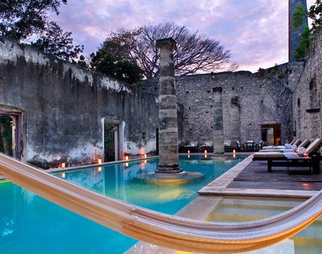 Hotel boutique hotel hacienda uayamon campeche m xico for Hotel boutique mexico