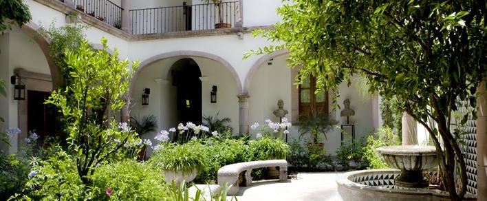 Hotel boutique hotel casa de sierra nevada san miguel de for Casa y jardin mexico