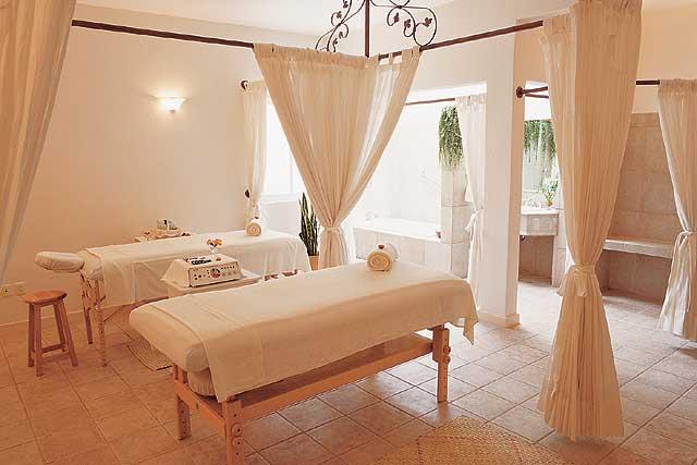 Hotel boutique hotel hacienda los laureles oaxaca m xico for Decoracion de pared para spa