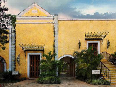 Hotel hacienda xcanat n m rida yucat n m xico hoteles boutique en mexico - Fachadas de casas rusticas andaluzas ...
