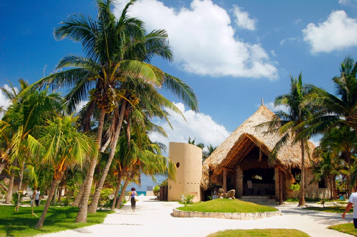 Hotel boutique hotel maya tulum tulum quintana roo for Hoteles junto al mar