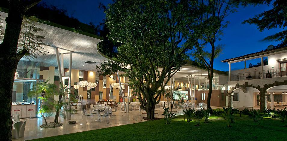 Hotel boutique hotel antica villa cuernavaca morelos for Fachadas hoteles minimalistas