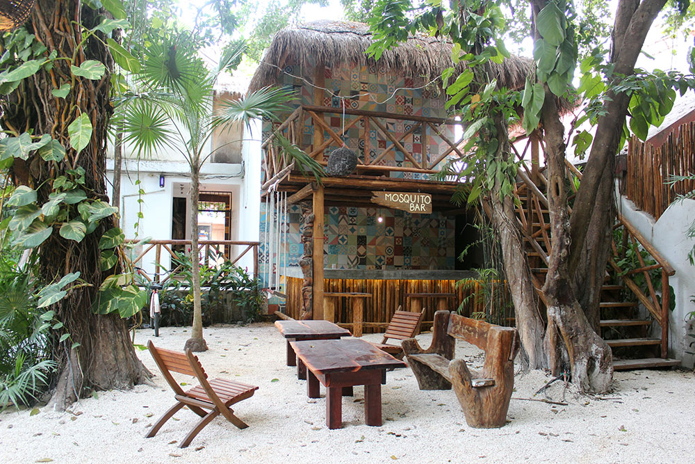 Hotel boutique hostal mx playa del carmen riviera maya for Hostal el jardin chiclana